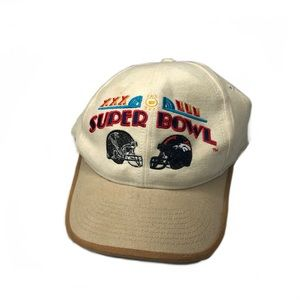 Vintage Super Bowl XXXIII Snapback 1998 NFL Hat
